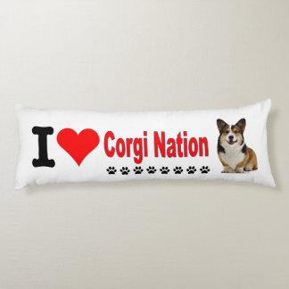 私はコーギーの国家を愛します ボディピロー
