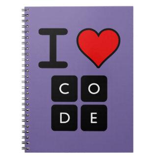 私はコードを愛します ノートブック