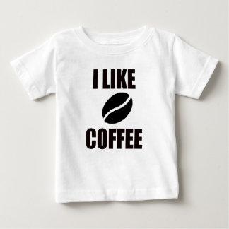 私はコーヒーを好みます ベビーTシャツ