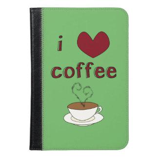 私はコーヒーを愛します iPad MINIケース