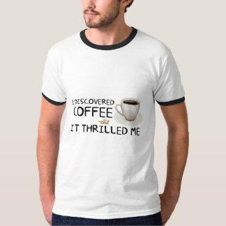 """""""私はコーヒー""""人のワイシャツ発見しました Tシャツ"""