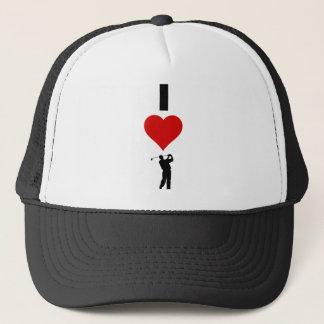 私はゴルフを愛します(縦) キャップ