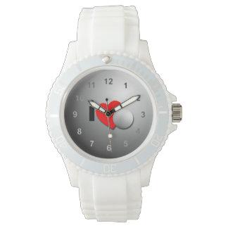 私はゴルフを愛します 腕時計