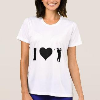 私はゴルフを愛します Tシャツ
