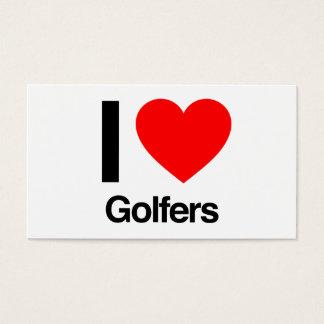 私はゴルファーを愛します 名刺