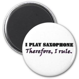 私はサクソフォーンを…演奏します マグネット