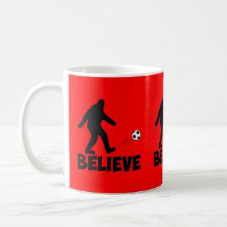 私はサスカッチで信じます コーヒーマグカップ