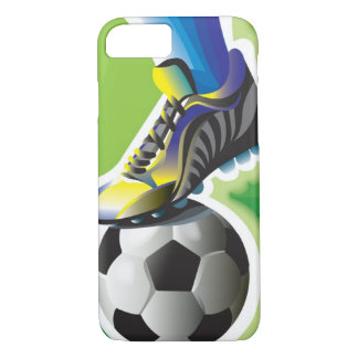 私はサッカーのiPhone 7の場合を愛します iPhone 8/7ケース