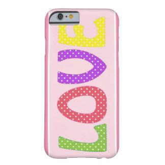 私はサブタイトルを愛します BARELY THERE iPhone 6 ケース