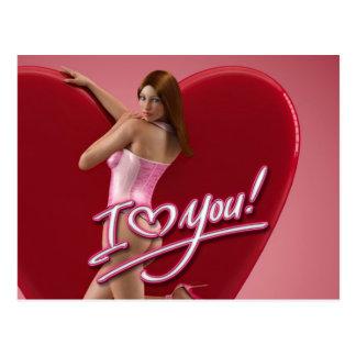 私はサマンサ愛します ポストカード