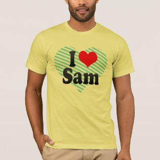 私はサムを愛します Tシャツ
