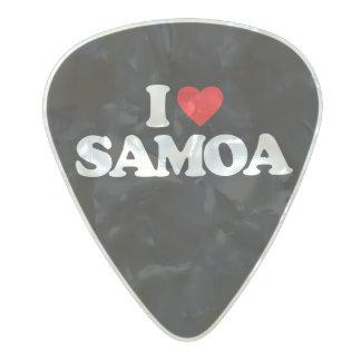 私はサモアを愛します パールセルロイド ギターピック