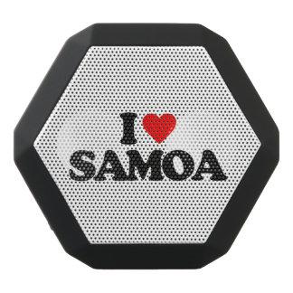 私はサモアを愛します ブラックBluetoothスピーカー