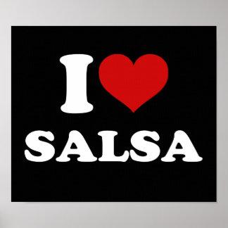 私はサルサを愛します ポスター