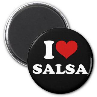 私はサルサを愛します マグネット