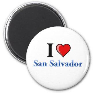 私はサンサルバドルを愛します マグネット