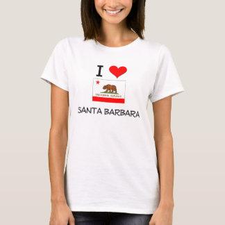 私はサンタ・バーバラカリフォルニアを愛します Tシャツ