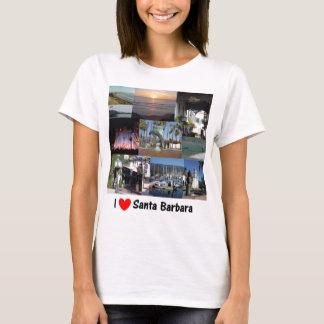 私はサンタ・バーバラ.pngを愛します tシャツ