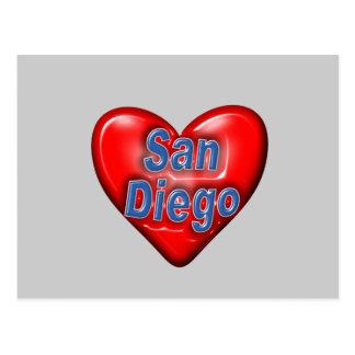 私はサンディエゴを愛します ポストカード