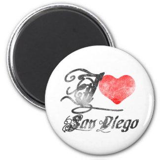 私はサンディエゴを愛します マグネット