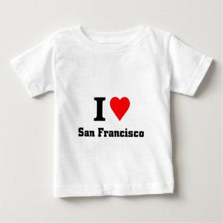 私はサンフランシスコを愛します ベビーTシャツ