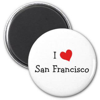 私はサンフランシスコを愛します マグネット