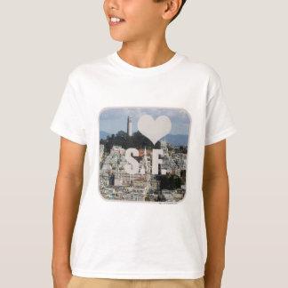 私はサンフランシスコを愛します Tシャツ