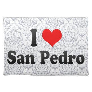 私はサンペドロ、フィリピンを愛します ランチョンマット