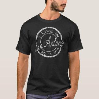 私はサン・アントニオに住んでいます! Tシャツ