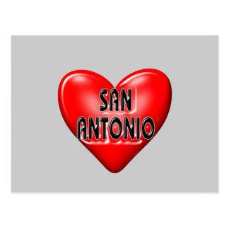 私はサン・アントニオを愛します ポストカード