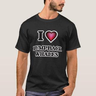 私はザトウクジラを愛します Tシャツ