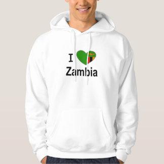 私はザンビアを愛します パーカ