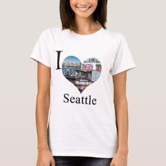 私はシアトルを愛します Tシャツ