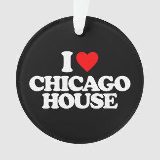 私はシカゴの家を愛します オーナメント