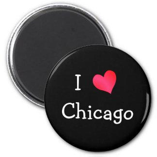 私はシカゴを愛します マグネット