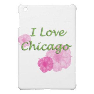 私はシカゴを愛します iPad MINIケース