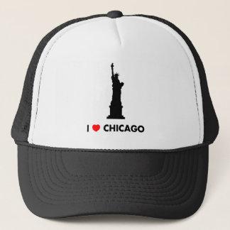 私はシカゴ-自由の女神--を愛します キャップ