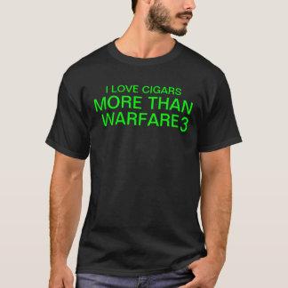 私はシガーを愛します Tシャツ
