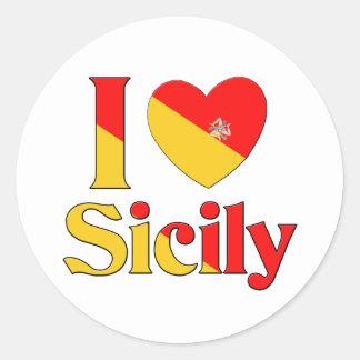 私はシシリーを愛します ラウンドシール