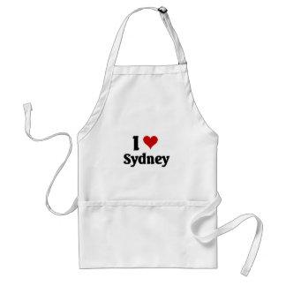 私はシドニーを愛します スタンダードエプロン
