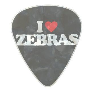 私はシマウマを愛します パールセルロイド ギターピック