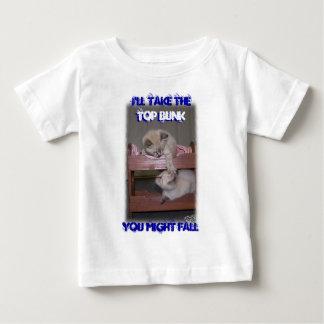 私はシャム上の寝台のオオヤマネコポイントを取ります ベビーTシャツ