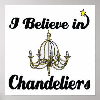 私はシャンデリアで信じます ポスター