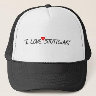 私はシュトゥットガルトを愛します キャップ