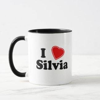 私はシルビアを愛します マグカップ