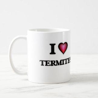 私はシロアリを愛します コーヒーマグカップ