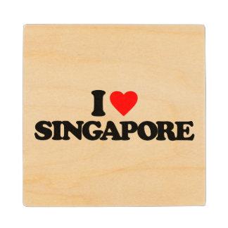 私はシンガポールを愛します ウッドコースター