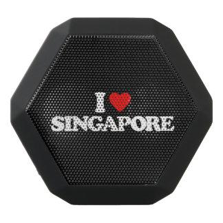 私はシンガポールを愛します ブラックBluetoothスピーカー