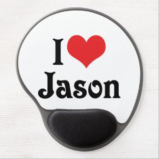 私はジェイソンを愛します ジェルマウスパッド