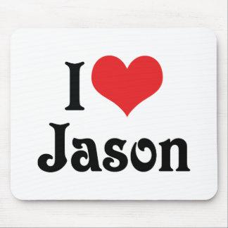 私はジェイソンを愛します マウスパッド